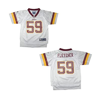 04c9b8980 Children   Boys NFL Washington Redskins Fletcher  59 Athletic Comfortable  Fit Short Sleeve Jersey Shirt
