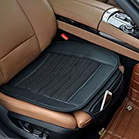 Car Seat Cushion,Suninbox Car Seat Covers[Bamboo Charcoal]Breathable Comfortable Car Cushion,Anti-skid Leather Four Seasons General car seat protector