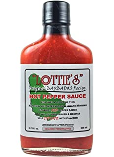 Lotties Original Barbados Red Hot Sauce, ...