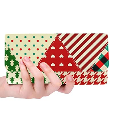 Único Personalizado Estilo Patchwork de Navidad Acolchado ...