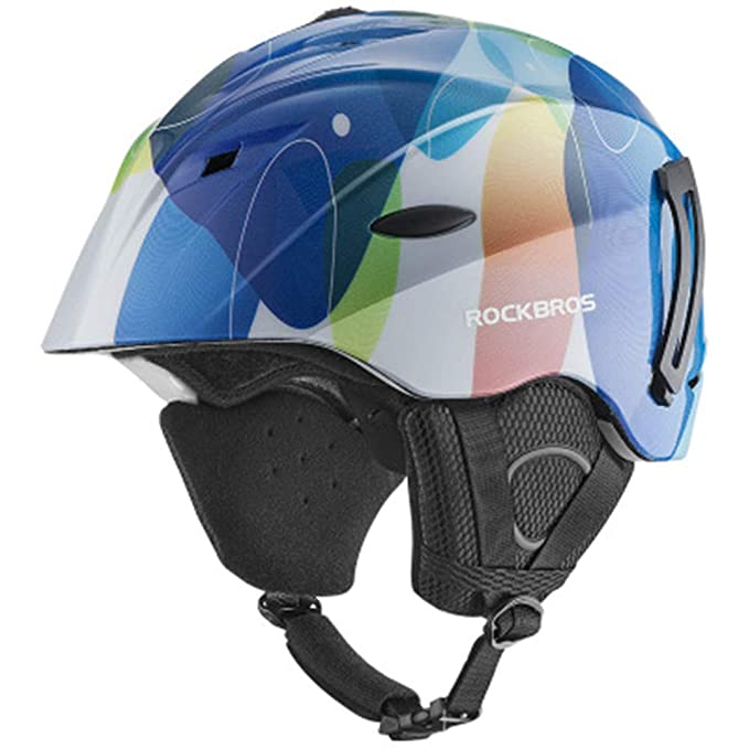SHXP88 Bike Integrally Helmet Ski-Helm Winter Warm Thermal Ultralight Radsport-Ski-Helm Sicherheitsausrüstung (M Adjustable:5