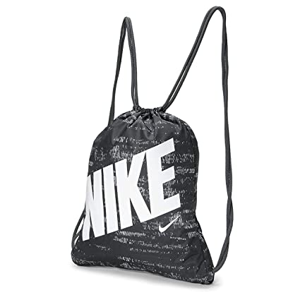 Nike Kids Graphic Gym Sack (Black Anthracite White, One Size) 31a0fb6d96