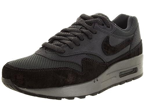 NIKE Womens Air Max 1 Premium Low Top Lace Up Running Sneaker