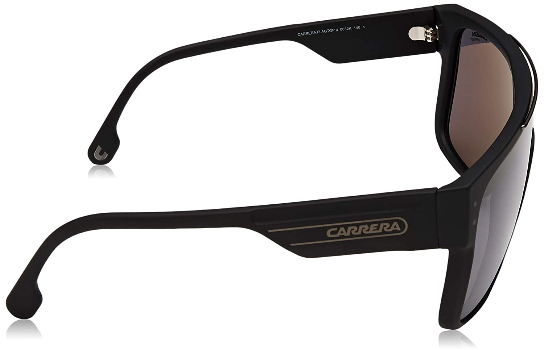 339adb2daffbf Amazon.com  Carrera Flagtop II Black Gray Lens Sunglasses  Clothing
