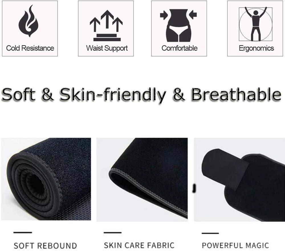 Waist Trainer Belt for Women /& Men Weight Loss Ab Belt with Sauna Effect Waist Support /& Abdominal Stabiliser Feimax Waist Trimmer Belt