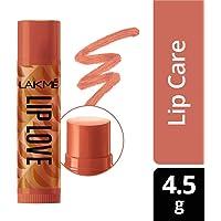 Lakme Lip Love Chapstick, Caramel, 4.5g