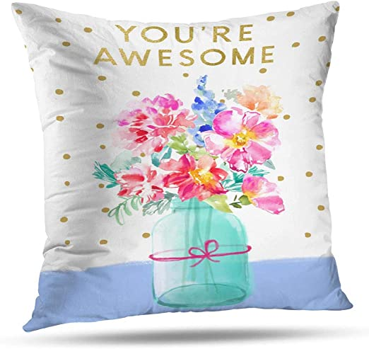 Hidden Zipper Linen Decorative Pillow Cushion Case for Bed Living Room Sofa Couch Bedroom Home Decor Readers are Leaders Throw Pillow Cover 16 x 16