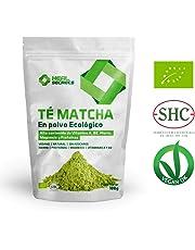 Té Verde Matcha Orgánico Japonés en Polvo Té Matcha Biológico Japonés Té Bio Grado Ceremonial - Culinario Matcha Ecológico de cultivo 100% Organico 100 Grm Heal Secrets