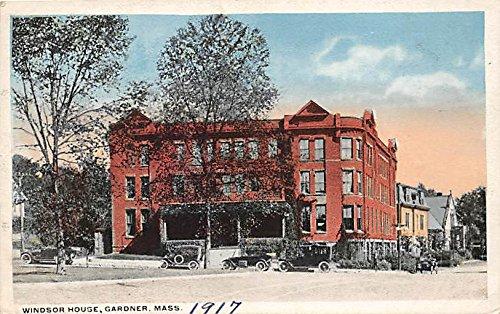 - Windsor House Gardner Massachusetts Postcard
