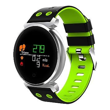 Montre Connectée, Bracelet Connecté Écran Couleur Podometre Fitness Tracker Dactivité avec Cardiofréquencemètre Etanche