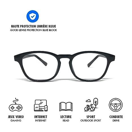 Lusee Trendy Gamme Lifestyle - Gafas Anti Luz Azul - Protégez VOS ...