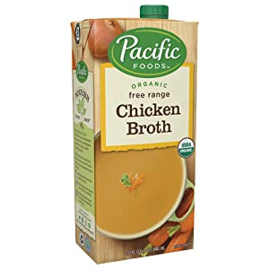 Pacific Foods Organic Free Range Chicken Broth, 32-Ounce Carton Keto Friendly