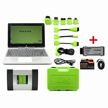 JDiag Elite Original with Laptop J2534 ECU Diagnostic and Coding