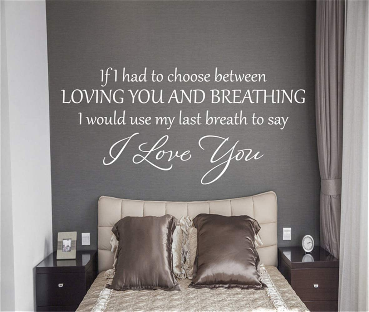 All of me Loves All of you #2 Vinyl Wall Decal Lettering Decor Wall Words Quote