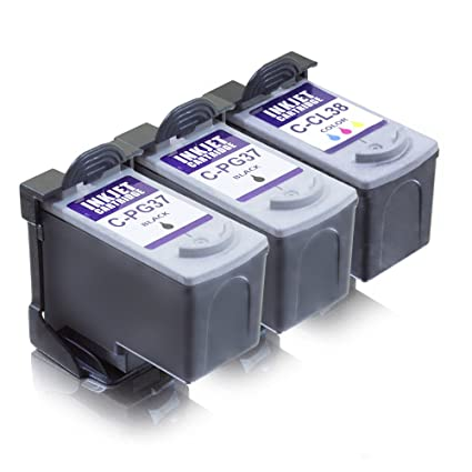 MS de Point® 3 cartuchos para impresora Canon Pixma MP140 MP210 ...