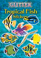 Dover Books DOV-44457-0 Glitter Tropical Fish Stickers