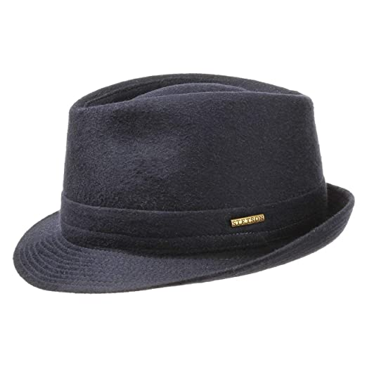 Stetson Men s Wool Blend Fedora Hat at Amazon Men s Clothing store  5b022b2923cb