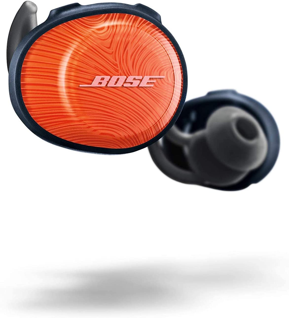 Bose SoundSport Free Auriculares intraurales inalámbricos, Bluetooth, Naranja (Bright Orange/Azul marino)