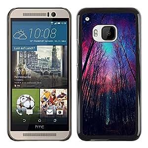 Dragon Case - FOR HTC One M9 - give up the purpose - Caja protectora de pl??stico duro de la cubierta Dise?¡Ào Slim Fit