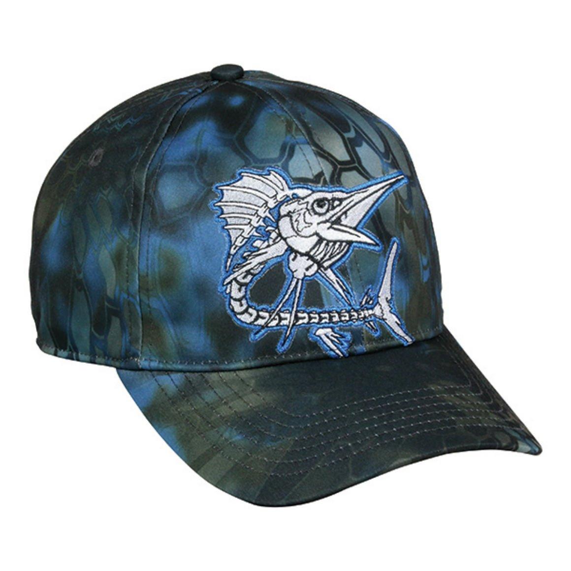 NEW Calcutta Outdoor Cap Bone Hunting Cap             Blue