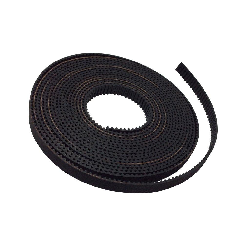 BEMONOC Pack of 5Meters MXL Timing Belt Pitch 2.032mm Width 6mm Open Ended for Motor Drive Belt