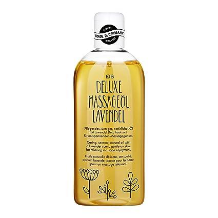 Aceite de masaje Deluxe de EIS | aceite de masaje erótico | aroma lavanda | 250