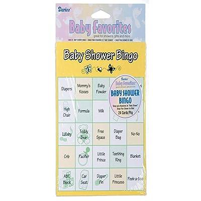 Darice Baby Shower Bingo Game, 24 Pieces: Kitchen & Dining