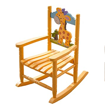 Amazon.com: HYYTY-Y Kids Rocking Chair, Wooden Fun Safety Lounge ...