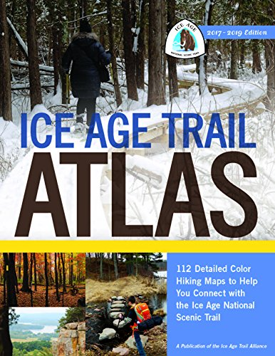 ice age trail map - 1