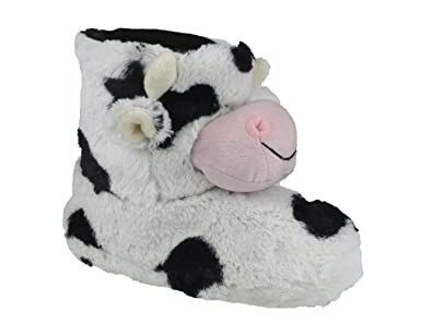 Divaz COW Ladies Furry Novelty Slippers