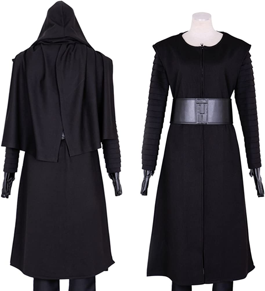 Amazon.com: CG disfraz traje Kylo Ren para hombre: Clothing