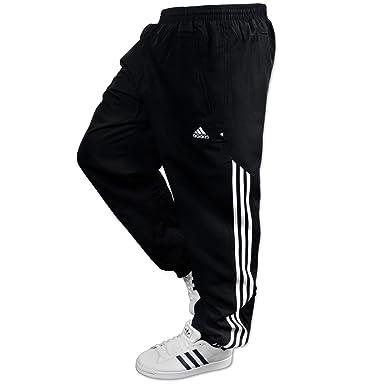adidas 3S Stinger Pant, - Pantalones de chándal Negro XL: Amazon ...
