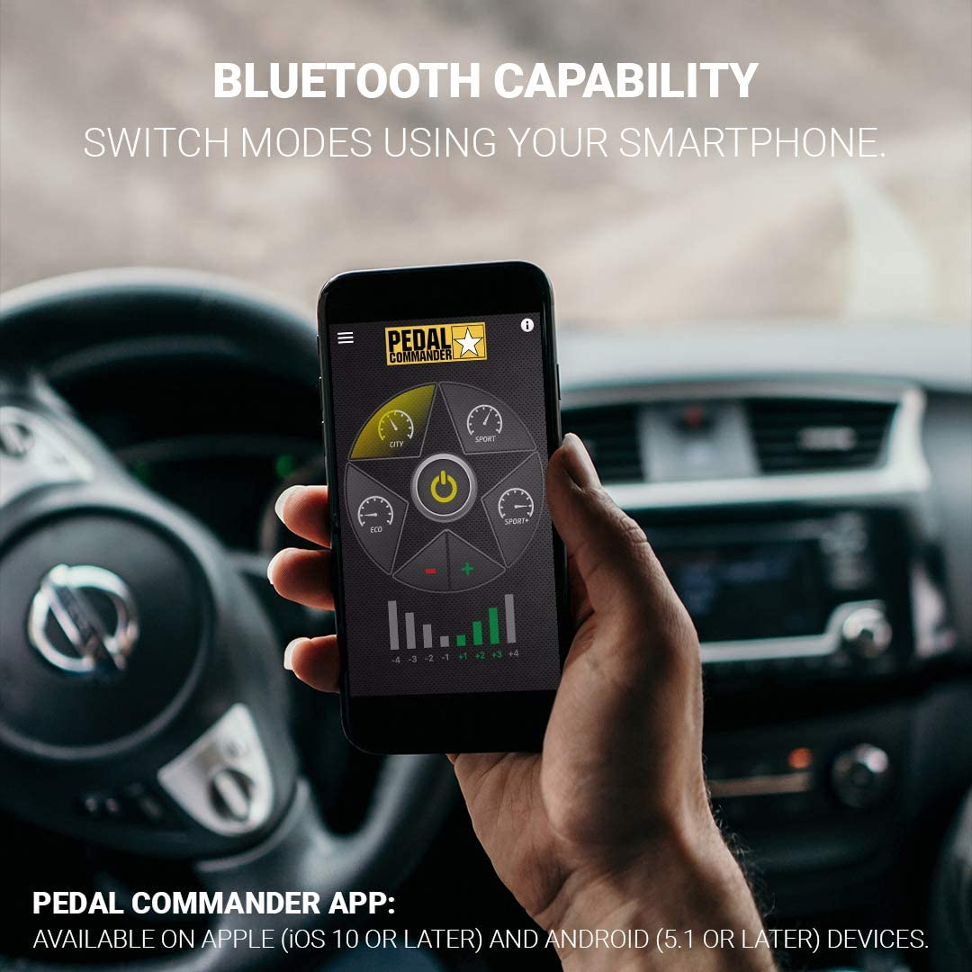 2011 and newer vehicles only Pedal Commander throttle response controller PC18 Improve FUEL ECONOMY up to 20/% with ECO mode