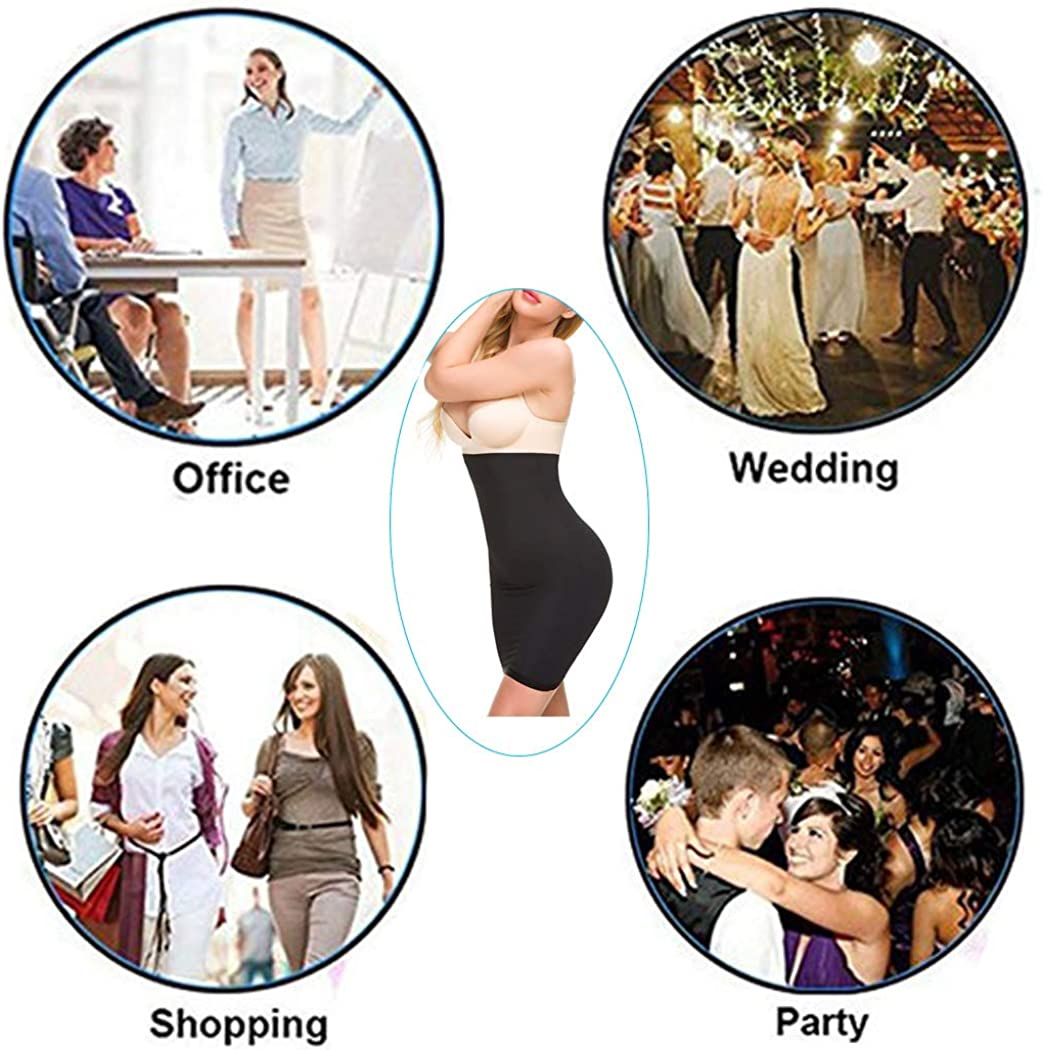Ysabeloom High Waist Half Slips for Under Dresses Women Tummy Control Tube Dress Seamless Slimming Slip Shapewear