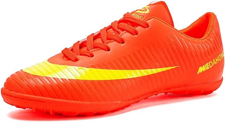 Botas de Fútbol para Niños Hombre FG/AG Zapatos de Fútbol Niñas ...