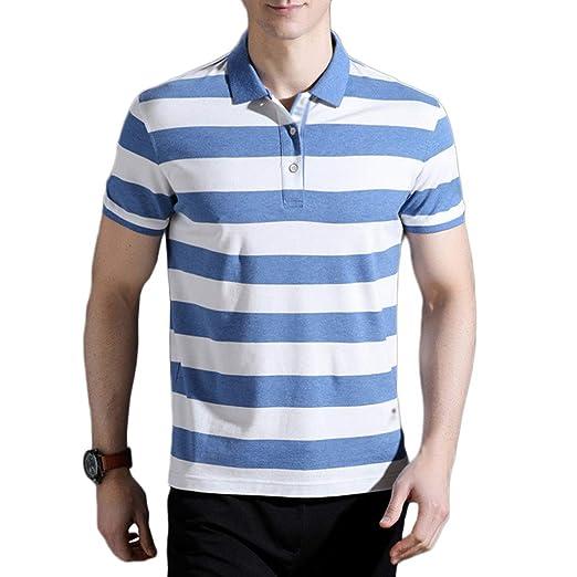 NDHSH Camisa Polo para Hombre Camisetas con Manga Corta Camisetas ...