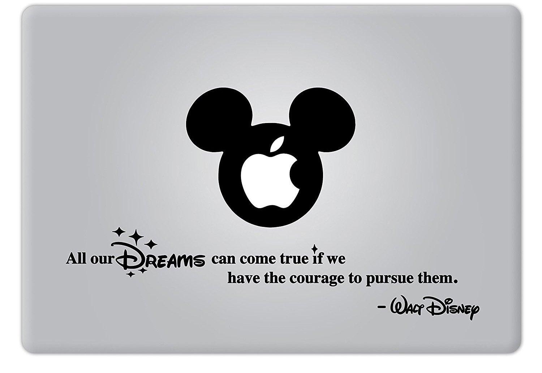 新作商品 Walt Disney Dreams Quote Apple All Retina our Dreams Can Come True Apple Macbook Decal Vinyl Sticker Apple Mac Air Pro Retina Laptop sticker by DecalPro Designs B00Z9IGFZM, 出産祝専門店アイラブベビーギフト:516c8cdc --- a0267596.xsph.ru