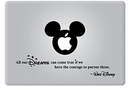 Amazon Com Walt Disney Quote All Our Dreams Can Come True Apple