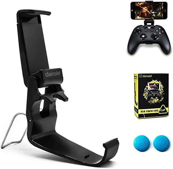 Amazon Com Dainslef Xbox Xbox One Controller Phone Mount Xbox Controller Holder For Phones Cellphone Clip Foldable Clampfor Microsoft Xbox One Xbox One S Steelseries Nimbus Duo Clip Only Computers Accessories