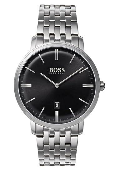 Hugo BOSS Reloj Análogo clásico para Hombre de Cuarzo con Correa en Acero Inoxidable 1513536