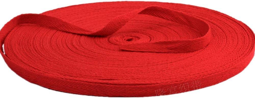 Burgundy Cotton Blend Binding Apron Herringbone Twill Webbing Tape Sew Strap 25mm Wide 1-5 metres