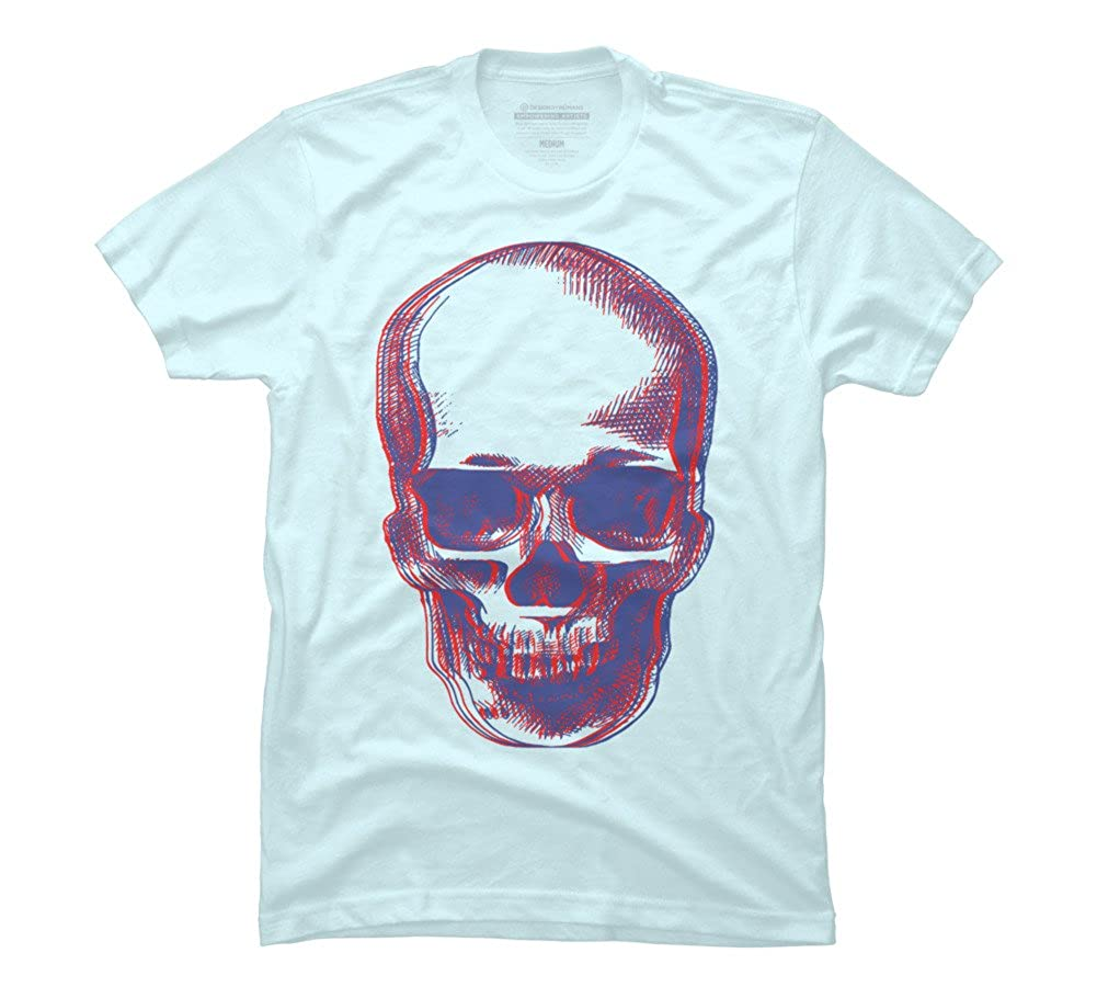 Amazon Skull 3d Mens Graphic T Shirt Design By Humans Clothing