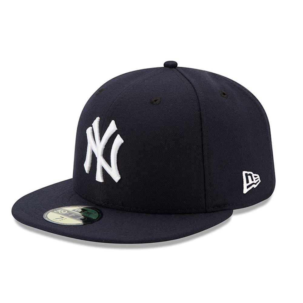 New Era Mens New York Yankees MLB Authentic Collection 59FIFTY Cap, Size 6 5/8