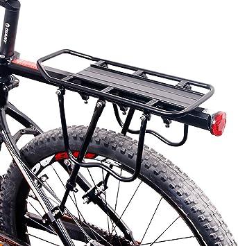 CGBOOM Portaequipajes Portabultos Bicicleta Trasero Accesorios ...