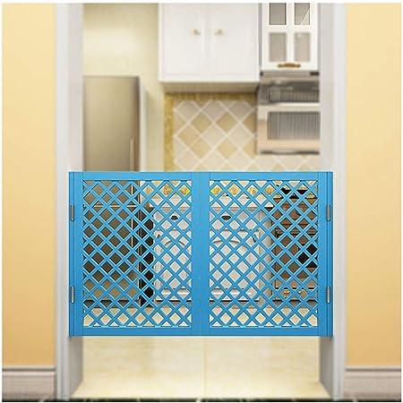 LIANGLIANG Puertas Batientes Bisagra Cafe Madera Maciza Hoja De Doble Puerta Cocina Bar Interior Decoración Metal Bisagra, Azul, Talla Personalizable (Color : Blue, Size : 70x90cm): Amazon.es: Hogar