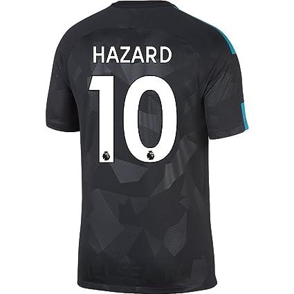 0bfeef92d3b Amazon.com : Nike Chelsea 3rd Hazard Jersey 2017/2018 : Sports ...