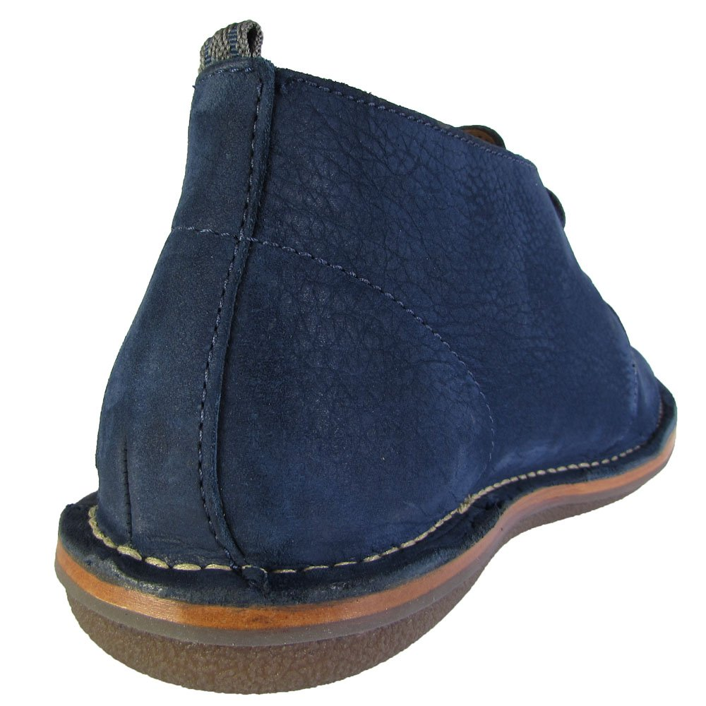 Cole Haan And Todd Snyder Men Lewis Chukka Leather Boot Shoe, Blazer Blue, US 7.5 by Cole Haan (Image #3)