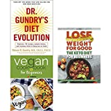 img - for dr. gundry's diet evolution, vegan cookbook for beginners and lose weight for good the keto diet for beginners 3 books collection set - turn off the genes that are killing, keep it delicious & simple book / textbook / text book