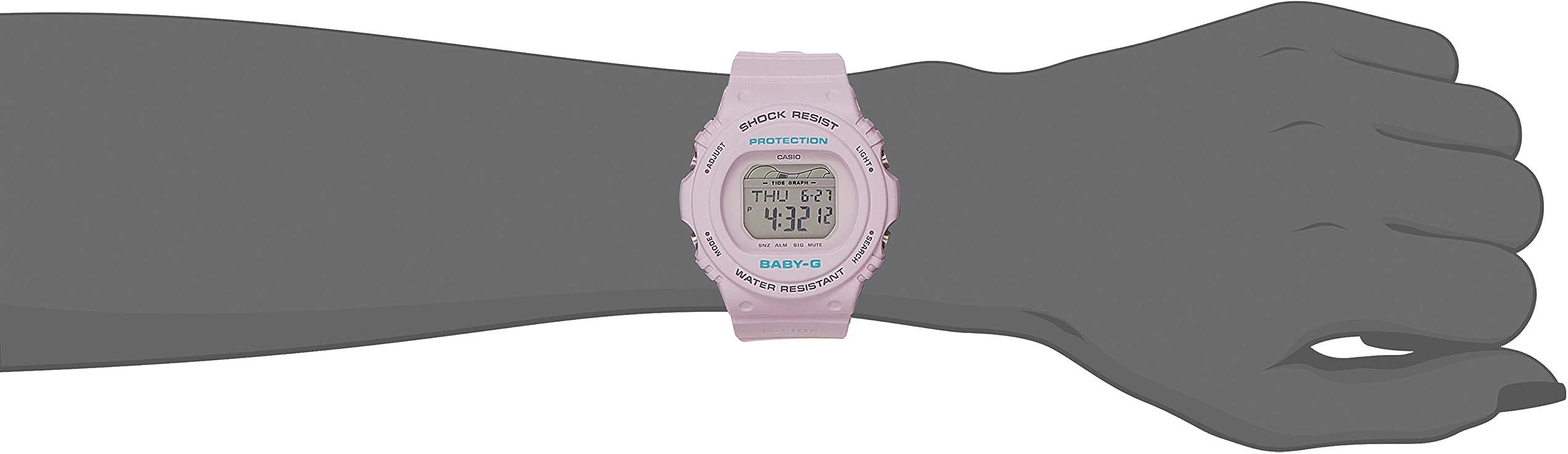 Moda Casio Baby g BLX 570 4 Reloj Digital Resistente Al Agua