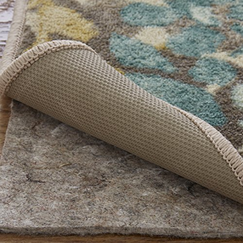 Mohawk Ultra Premium 100% Recycled Felt Rug Pad, 9'x12', 1/4 Inch Thick, Safe for All Floors (Hardwood Floor Rugs Area Rugs Best)